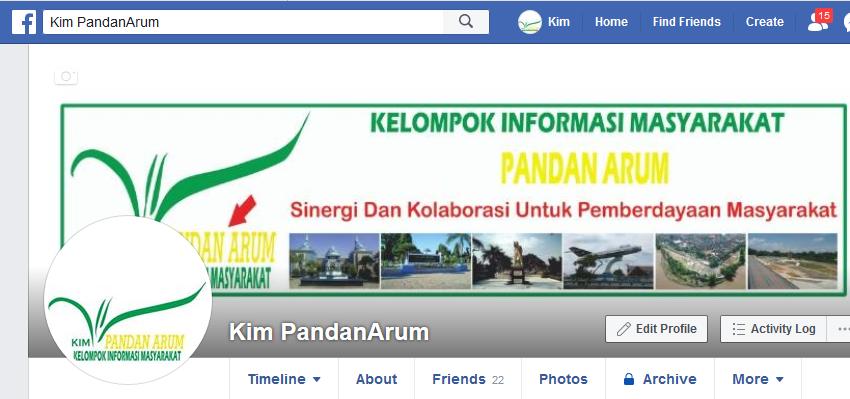 FACEBOOK KIM PANDAN ARUM