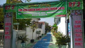 Semangat Persiapan Lomba Go Green And Clean 2019