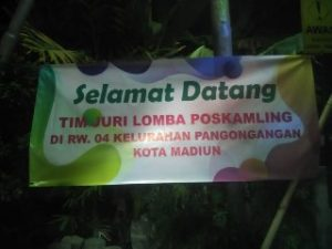 Geliat Lomba Pos Kamling Kelurahan Pangongangan 2019